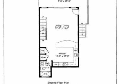 Floorplan South Kingston Homes The Matunuck Breakers Unit 8 2